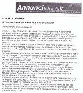 ANNUNCI SUL WEB 17 05 2014