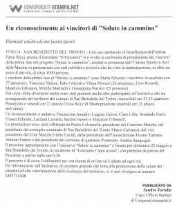 COMUNICATI STAMPA 17 05 2014
