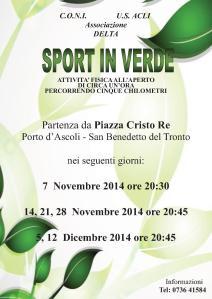 Sport in verde novembre dicembre 2045
