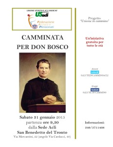 CAMMINATADON BOSCO