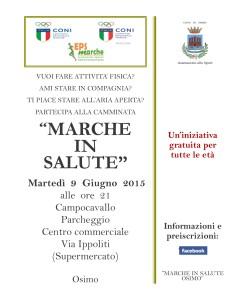 Marche in Salute Osimo09062015PRIMABOZZA