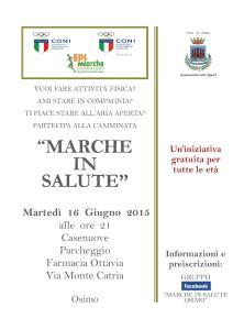 Marche in Salute Osimo16062015