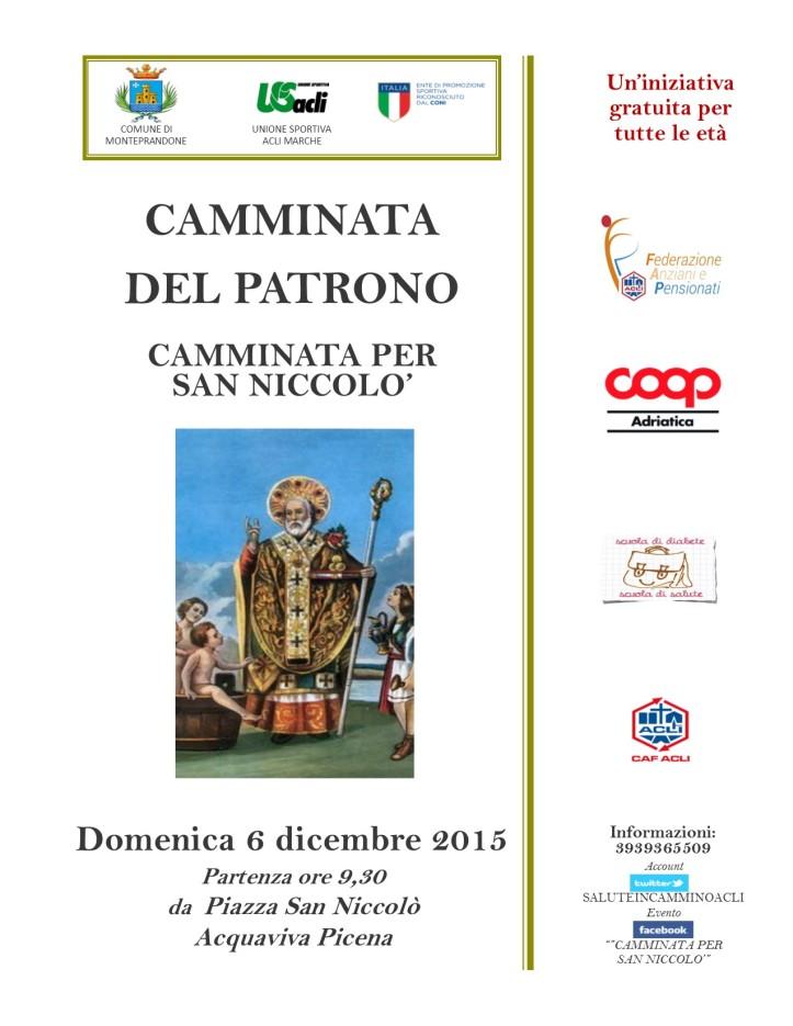 CAMMINATADEL PATRONOS Nicolò2015