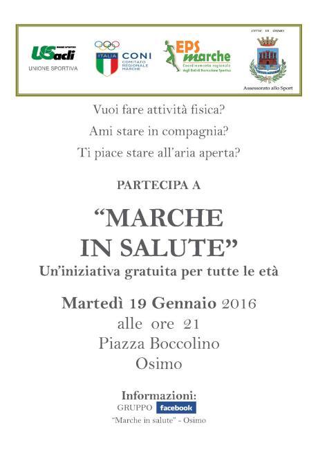 Marche in Salute Osimo2016