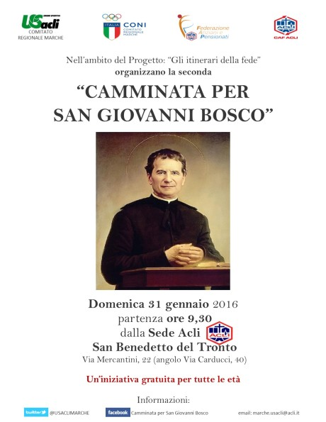 SECONDA CAMMINATA PER SAN GIOVANNI BOSCO