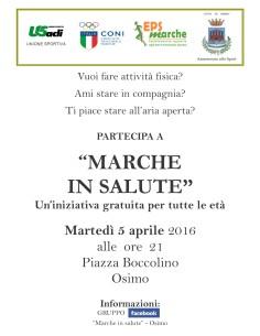 Marche in Salute Osimo05042016