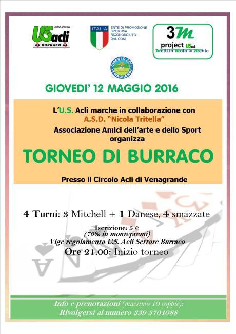 torneo di burraco 12 05 2016