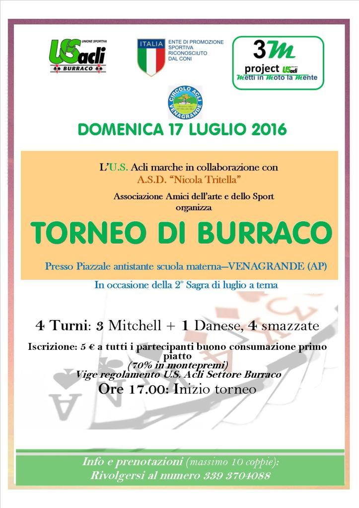 torneo di burraco 17 07 2016