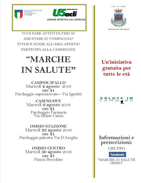 AGOSTO Marche in Salute Osimo