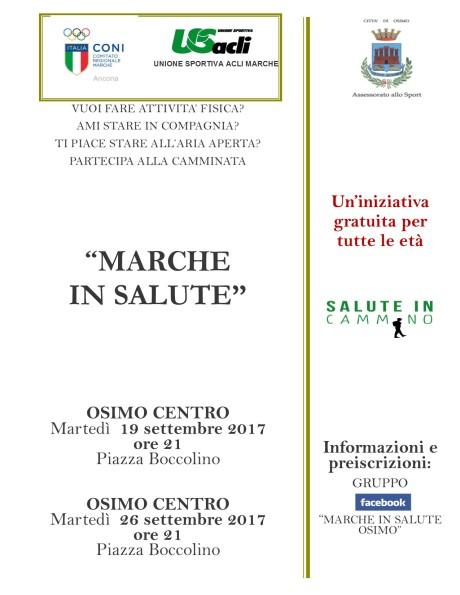 settembre Marche in Salute Osimo