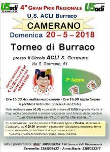 LOCANDINA CAMERANO 20-5-18
