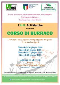 CORSO burraco TOFARE 2018