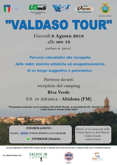 Volantino VALDASO Tour 09082018