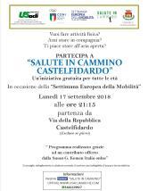 volantino camminate Castelfidardo 17 settembre 2018
