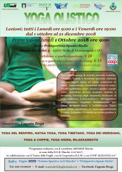 yoga dal 1 ott al 21 dic