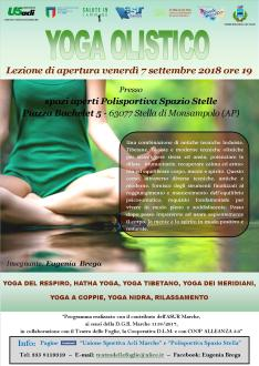 yoga lezione apertura