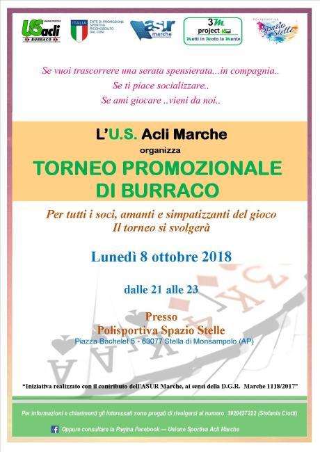 TORNEO burraco Stella 8 ottobre 2018