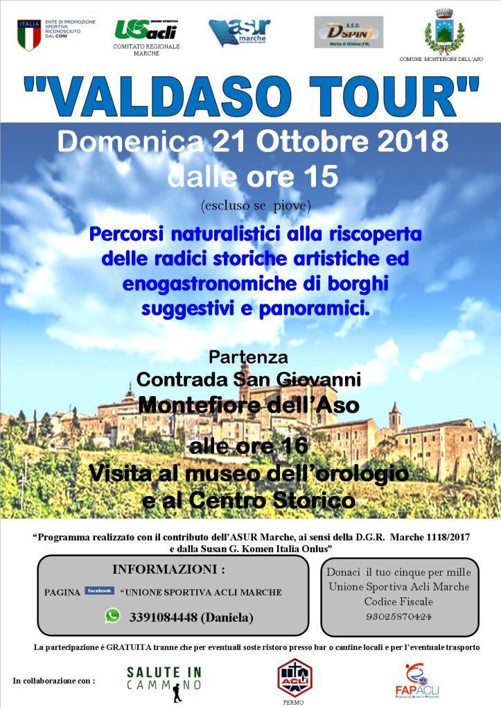 Volantino VALDASO Tour 21102018
