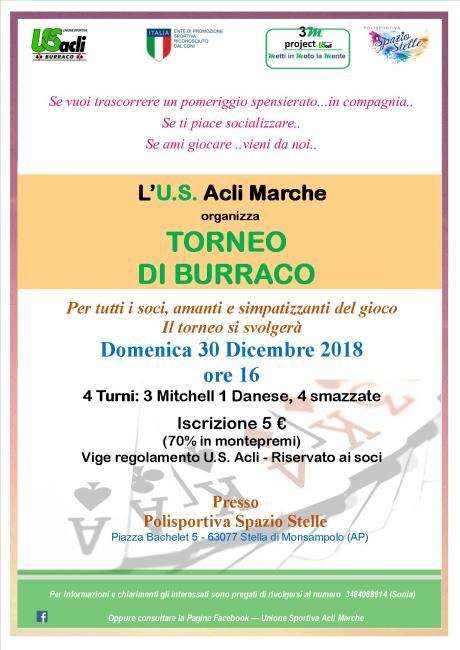 TORNEO burraco Stella 30 12 2018