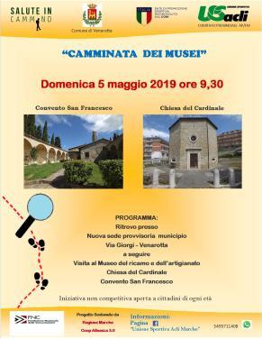 CAMMINATA DEI MUSEI 05.05.2019
