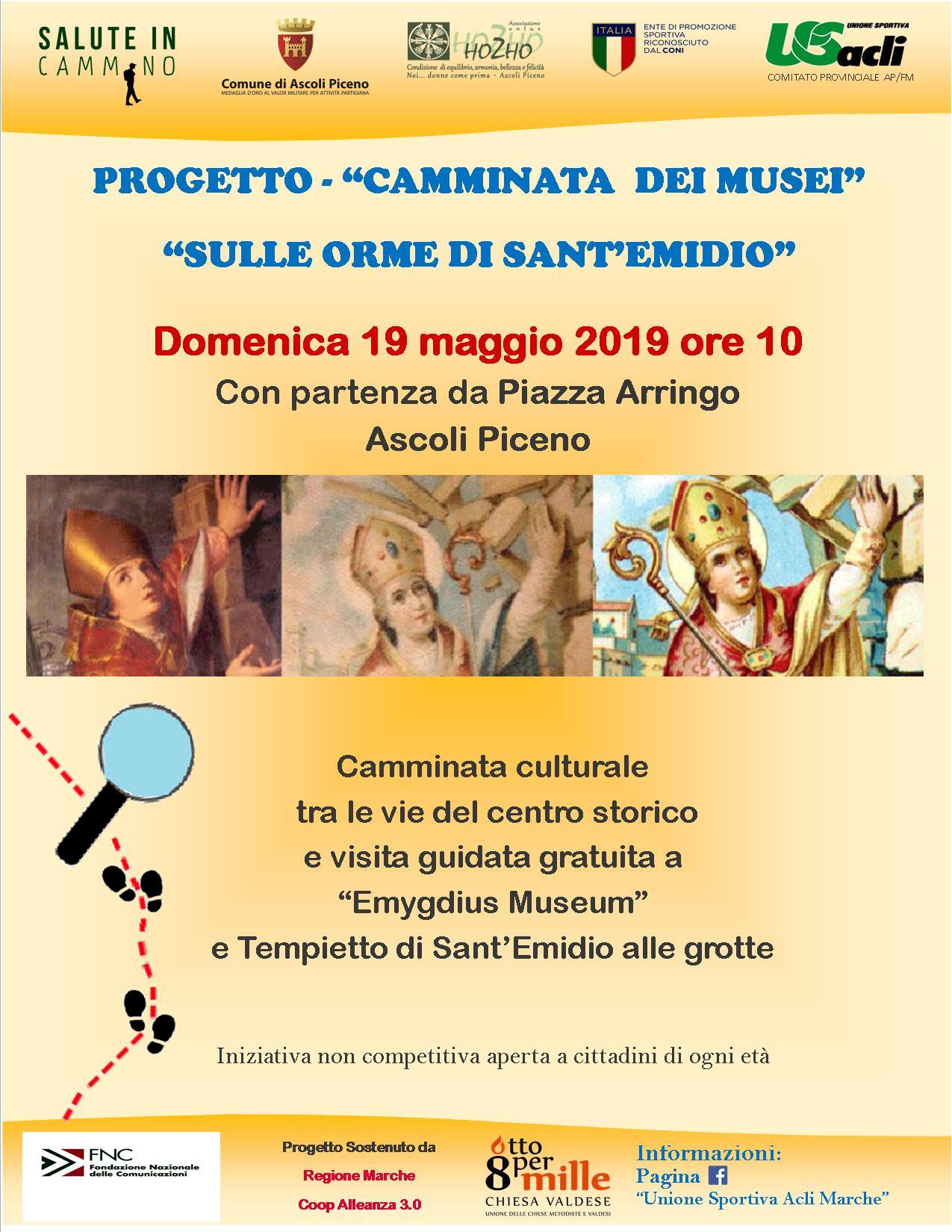 CAMMINATA DEI MUSEI 19.05.2019
